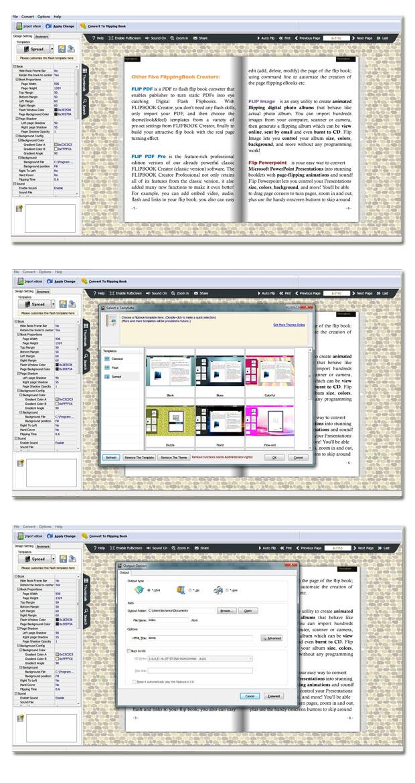 Windows 7 eBook to Flash Converter 2.7 full