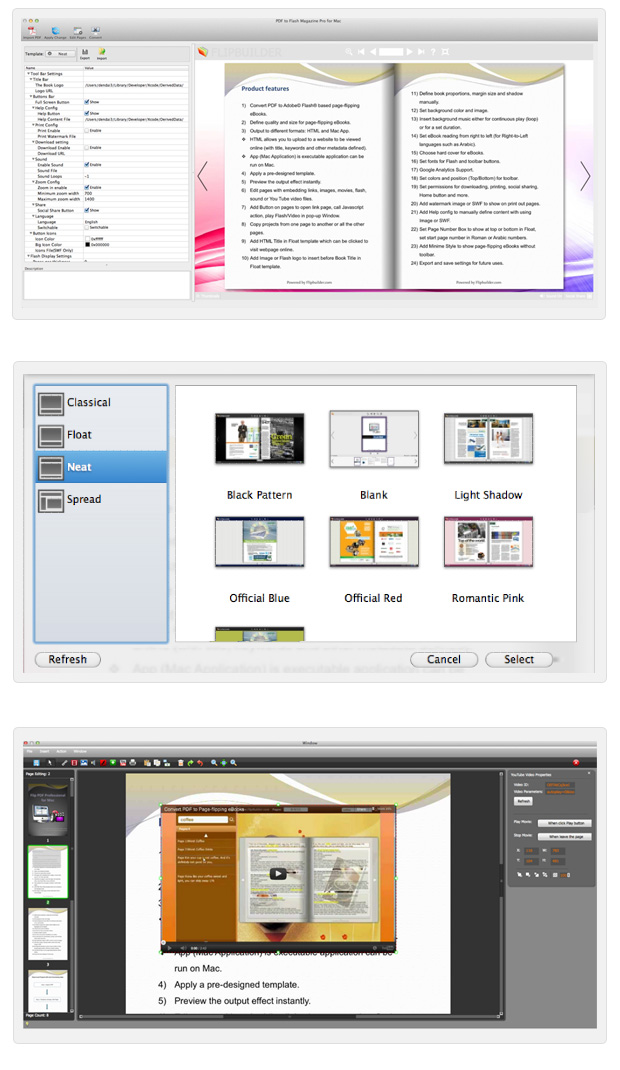 PDF to Flash Converter Pro for Mac