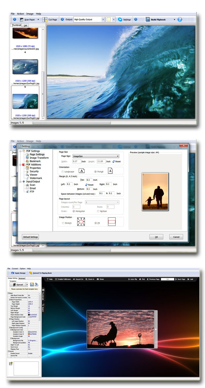 Windows 7 Scan to Flash Converter 2.7 full